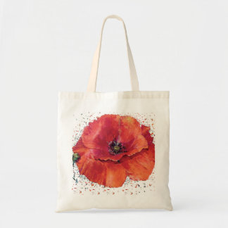 red bag poppy
