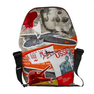 Red Bag - Rickshaw Messenger Bag