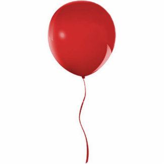 Red Balloon 1 Sculpture Photo Cut Out