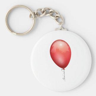 Red Balloon Key Ring