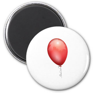 Red Balloon Magnet