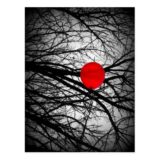Red Balloon Post Cards