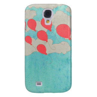 Red Balloons Galaxy S4 Case