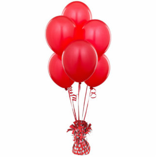 Red Balloons Magnet Cut Outs