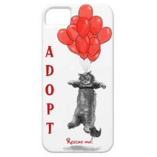 Red Balloons Rescue Me iPhone Case iPhone 5 Case