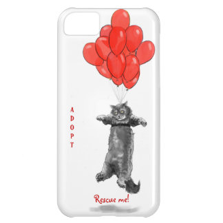 Red Balloons Rescue Me iPhone Case iPhone 5C Case