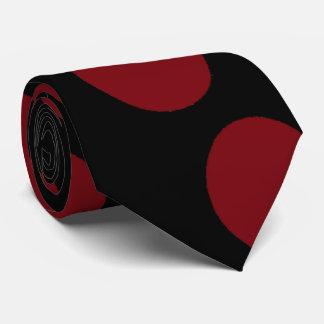Red balls tie
