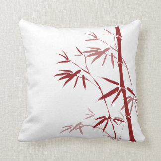 Red Bamboo Pillows