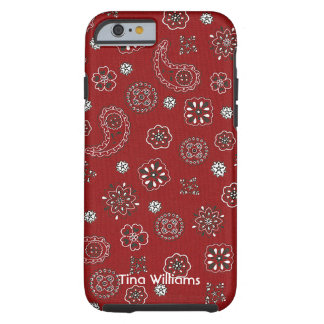 Red Bandana iPhone 6 case Tough iPhone 6 Case