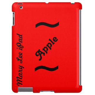 Red Bang Case-Mate Barely There iPad Case