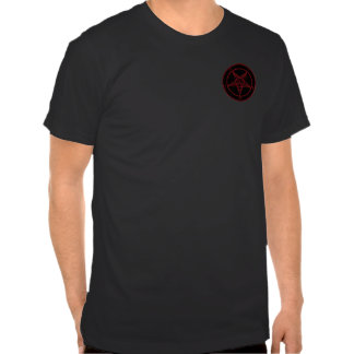 Red Baphomet Pocket T-Shirt