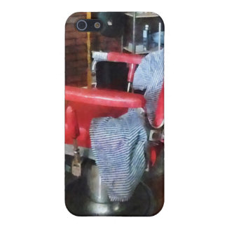 Red Barber Chair iPhone 5 Covers