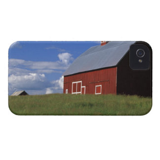 Red barn in Latah County, Idaho state PR (MR) iPhone 4 Case