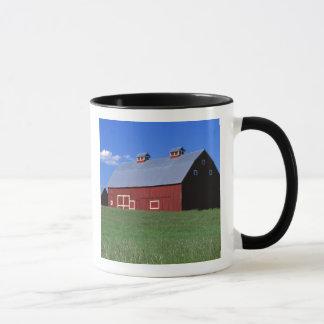 Red barn in Latah County, Idaho state PR MR) Mug