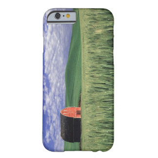 Red barn in wheat & barley field in Whitman 2 Barely There iPhone 6 Case