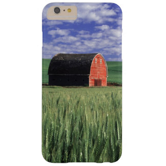 Red barn in wheat & barley field in Whitman 2 Barely There iPhone 6 Plus Case