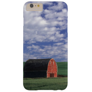 Red barn in wheat & barley field in Whitman Barely There iPhone 6 Plus Case