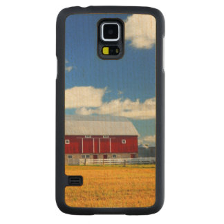 Red Barn Maple Galaxy S5 Slim Case