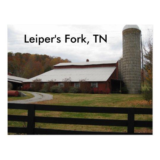 Red Barn of Leiper's Fork Postcard