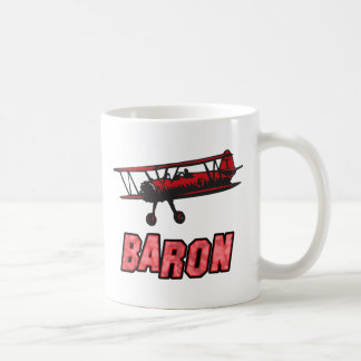 Red Baron Basic White Mug