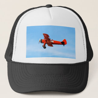 Red Baron Bi Plane Trucker Hat