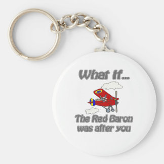Red Baron Key Ring
