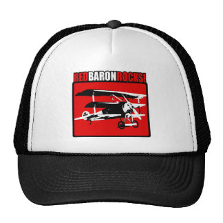 Red Baron Rocks! Cap