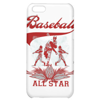 Red Baseball All Star T-shirts and Gifts iPhone 5C Cover