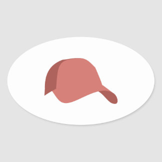 Red baseball cap stickers