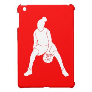 Red Basketball Girl iPad Mini Case