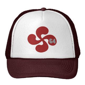Red Basque crosses 64 Lauburu Cap