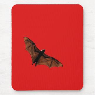Red Bat Mouse Mat