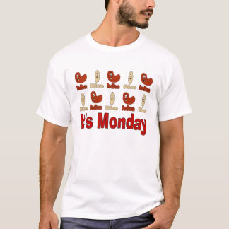 Red Beans and Rice Mondays T-Shirt