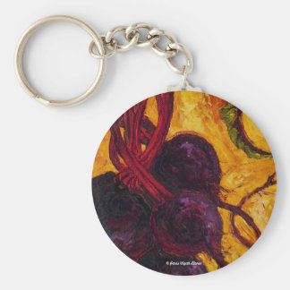 Red Beets Key Chain