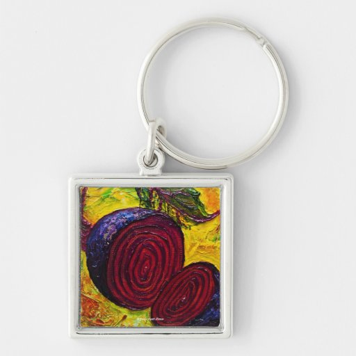 Red Beets Keychain