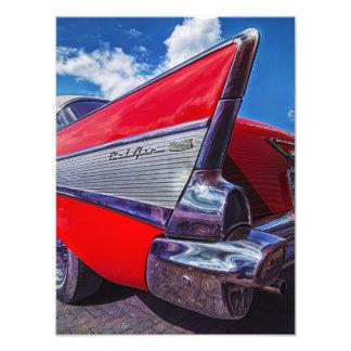 Red Bel Air Art Photo