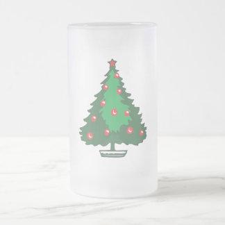 Red bell Christmas tree Mug