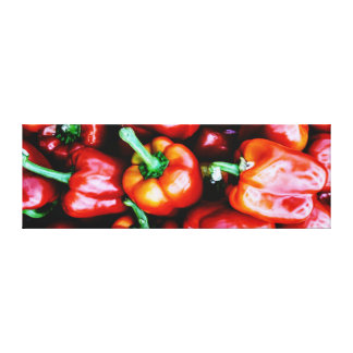 Red Bell Pepper - Canvas prints