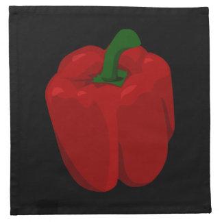 Red Bell  Pepper Napkin