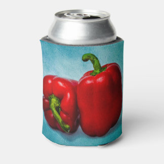 Red Bell Peppers Can Cooler