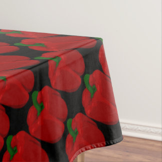 Red Bell Peppers Tablecloth