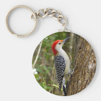 Red Bellied Woodpecker Keychain