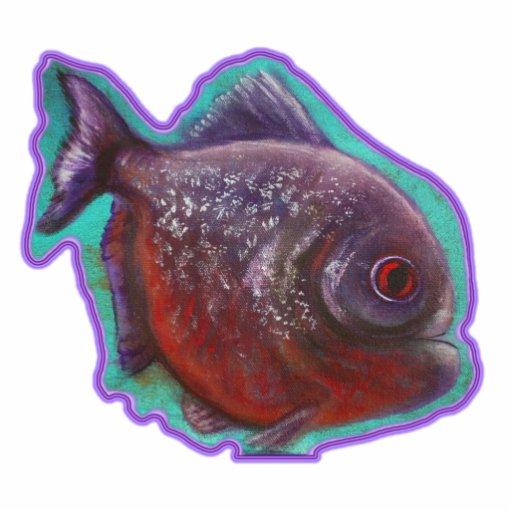 Red Belly Piranha Photo Sculpture