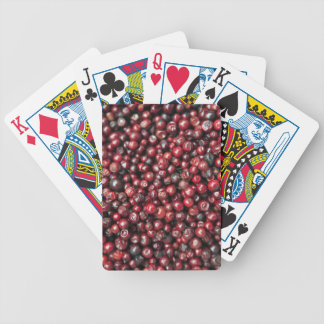 Red berries of the Himalayas Bicycle Playing Cards