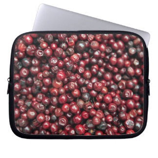 Red berries of the Himalayas Laptop Sleeve