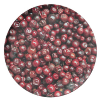 Red berries of the Himalayas Plate