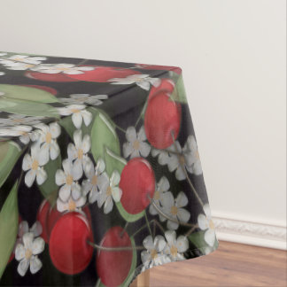Red berries tablecloth
