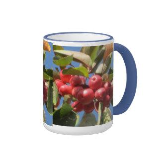 Red Berry Branch Mug