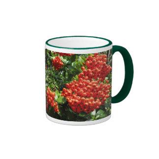 Red Berry Ringer Mug