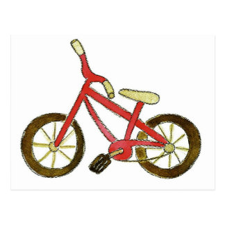 Red Bicycle Postcard